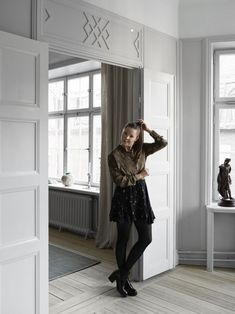 Tour the Highly Curated Home of Swedish Interior Designer and Stylist Madeleine Asplund Klingstedt - Nordic Design Swedish Interiors, Colorful Interiors, Swedish Decor, Modern Website, Cool Cafe, Nordic Design, Color Themes, Stockholm, Stylists