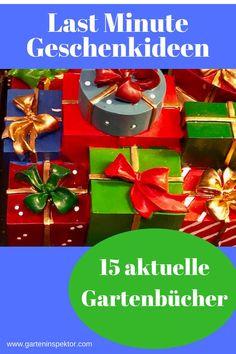 Die schönsten Last Minute Geschenkideen für Gartenfreunde und Naturliebhaber Last Minute, Gardening, Cluster, Gift Wrapping, Advent, Gifts, Inspiration, Book Presentation, Ornamental Plants
