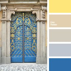 color for front door, cream and beige, cream and dark blue, cream and gray, cream and yellow, dark blue and beige, dark blue and gray, dark blue and yellow, gray and beige, gray and cream, gray and dark blue, gray and yellow, yellow and beige, yellow and cream, yellow and dark blue.