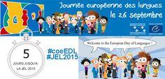 [le 26 septembre] La Journée européenne des langues (ressources, outils, jeux…) #coeEDL #JEL2015