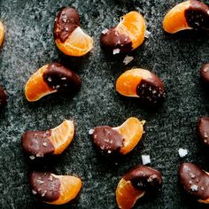 Chocolate Sea Salt Covered Orange
