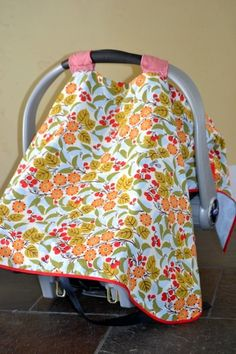 4 Simple DIY Baby Projects, including homemade gauze blankets (which are so expensive at the store!)