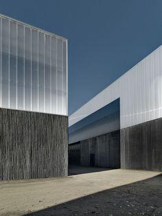 Redevelopment of Industrial Area   Francesco Adobati   Via concrete and polycarbonate: