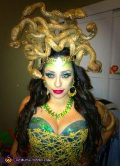 Glam Medusa - Homemade Halloween Costume