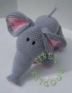 .: Modèle de crochet - Série de KISS - Elephant