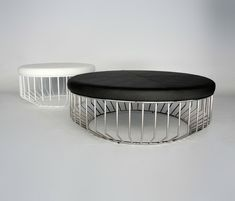 Poufs | Seating | Wired Ottoman | Phase Design | Reza Feiz. Check it out on Architonic