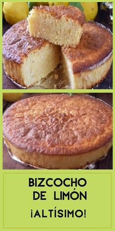 Bunt Cakes, Pan Dulce, Cooking Recipes, Healthy Recipes, Dessert Recipes, Desserts, Sin Gluten, Cake Cookies, Sweet Recipes