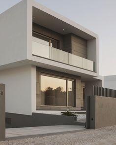 "Modern Living Style on Instagram: ""Clean modern house design. Follow @modernlivingstyle for more! ▫️◾️"""