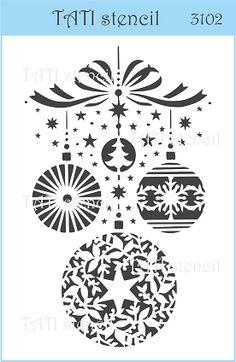 Трафарет объёмный TATI stencil 3102