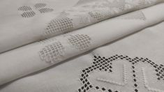 Plaid Tablecloth, Drawn Thread, Large Table, Tablecloths, Overlays, Colours, Embroidery, Floral, Hardanger