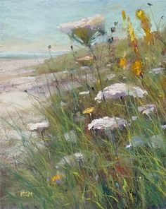 An Original Fine Art Gallery by Daily Paintworks Pastel Landscape, Landscape Art, Landscape Paintings, Art Painting Gallery, Fine Art Gallery, Pastel Art, Painting Inspiration, Flower Art, Watercolor Paintings