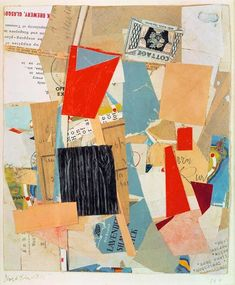 Kurt Schwitters - Cottage (Zinzin: following the text to see where it leads)