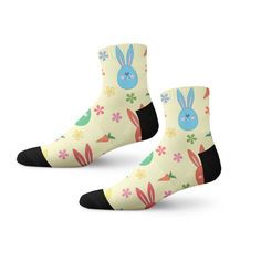 Polka Dot Show Pigs Casual Cotton Crew Socks Cute Funny Sock,great For Sports And Hiking