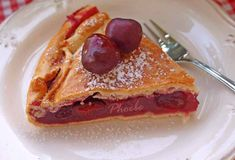 #Κερασόπιτα #nostimiesgiaolous Greek Sweets, Fruit Pie, Pancakes, French Toast, Cherry, Cooking, Breakfast, Food, Lent