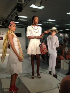 Footwear & accessories #catwalk at #Pure34 on the Gallery Hall Stage.
