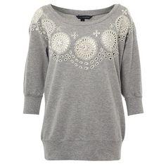 Solitude Sweatshirt Gray, $85, now featured on Fab.