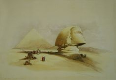 This article originally appeared in KMT: A Modern Journal of Ancient Egypt, Vol. Summer, 2001 as:Windows on Antiquity: Egypt in the Late Captured for All Time in the Works of Scottish Artist David Roberts(there were more illustrations in t Egyptian Drawings, Egyptian Art, Monuments, Ancient Egyptian Architecture, Pyramids Egypt, Sphinx, Exotic Art, Orient, Archaeology