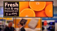 Supermarket Signage & Design | Retail Design | Shop Interiors | Tesco fresh signage