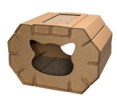 Cardboard Cat House * Review more details here : Cat House