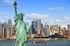 Vrijheidsbeeld in Amerika. Het beeld staat in de stad waar ik graag nog een keer heen wil. New York.