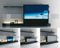 Pull up screen. Tech 101: A Crash Course in Home Theater Projection Screens