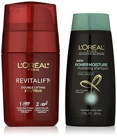 LOreal Paris Skin Care Revitalift Double Lifting Eye Treatment 05 Ounce Plus Shampoo 17  Ounce * More info could be found at the image url.