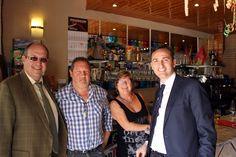 Inauguración Av. Europa 5 de abril 2013, el Alcalde, César Sánchez y el Concejal de Turismo, Jan Van Parij.