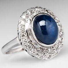 Rosamaria G Frangini   High Deep Blue Jewellery   7.25K sapphire. 14K white gold.