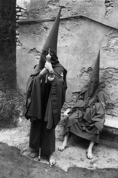 #josefkoudelka Josef Koudelka, 1973, Sevilla. Holy Week