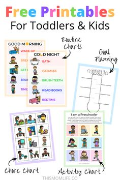 Most recent Totally Free daily routine chart for kids Strategies Your daily routine consists of all your habits.These actions structure your entire day and make the Daily Routine Chart For Kids, Morning Routine Chart, Morning Routine Kids, Morning Routine Printable, Toddler Routine Chart, Bedtime Routine Chart, Daily Routines, Chore Chart For Toddlers, Charts For Kids