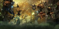 Kharadron Overlords art