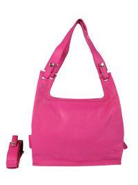 Lumi Supermarket Bag, love the fuchsia color on this