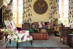 Tecidos Sanderson, colecção Voyage of Discovery. À venda na Nova Decorativa! #decoração #tecidos #homedecor #fabrics #Sanderson
