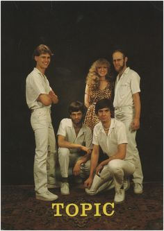 Someren, Lierop, Rulakker Topic, met Jan Maas, Peter Maas, Henk Maas, Rion van Melis en Fridy v.d. Eijnden. Gerrits, P. (fotograaf) 1980 - 1980