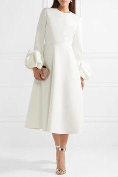 Autumn And Winter Long Sleeve Solid Color Dress Retro Skater Dress Elegant Outfit, Elegant Dresses, Beautiful Dresses, Modest Fashion, Hijab Fashion, Fashion Dresses, Dresses Dresses, Casual Dresses, Frack