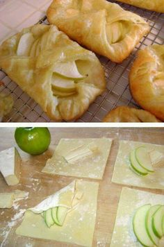 Apple turnover/tart... Easy PEASY!