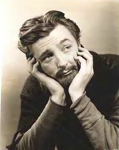 Robert Mitcham...sorry darling but you don't have the face for a Olivier beard