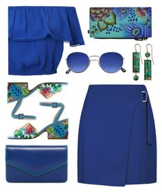 """""""Top set for Aug 27th, 2017"""" by countrycousin ❤ liked on Polyvore featuring MANGO, Anuschka, Miss Selfridge, Lodis and Xanthe Marina"""