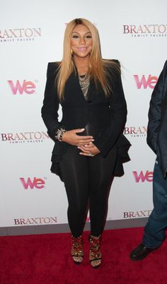 Tamar Braxton Shows Off Baby Bump At 'Braxton Family Values' NYC Premiere [PHOTOS] | Celebrity News & Style for Black Women