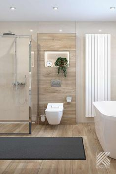 Bathroom Design Inspiration, Bad Inspiration, Beige Bathroom, Modern Bathroom, Bathroom Design Small, Bathroom Interior Design, Dream Home Design, House Design, Small Shower Room