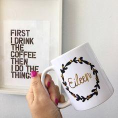 Hello Pretty. Buy design. | Designer Marketplace Mugs, Pretty, Stuff To Buy, Design, Tumbler, Mug, Design Comics