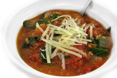 This delicious tomato soup comes together really quickly. I've added some crumbled whole wheat bread to thicken it and spinach to make it even healthier. Serve as a first course soup …