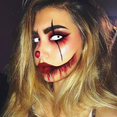 A more sinister looking makeup I could incorporate my style with for the assessment.