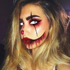 Halloween makeup #fantasymakeup #facepainting #cosplay #muashootingstar…