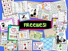 Lot of Freebies. Visit Teacher Features (K-4).