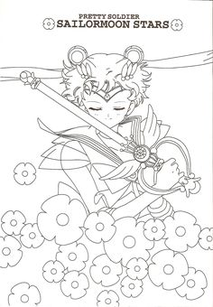 Sailor Moon Coloring Book6 006
