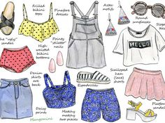 The fashion world moves fast so it's time for another trend update. Of course you don't have to follow every new trend (I know I don't), but it's fun to let yourself be inspired. If you're looking to update your wardrobe for summer, here are some of the biggest summer trends. See you next week!