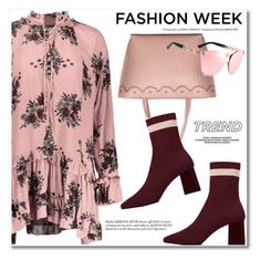 Trend Report: New York Fashion Week by fshionme on Polyvore featuring NYFW