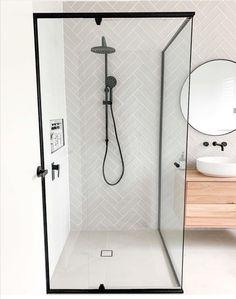 Home Bedroom, Bedroom Decor, Herringbone Tile, Bathroom Styling, Bathroom Ideas, Interior Decorating, Apartments Decorating, Decorating Bedrooms, Decorating Ideas