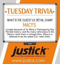 #Justick #TuesdayTrivia